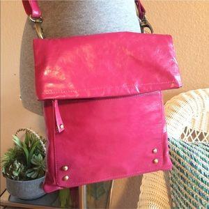 Latico Fuchsia Cayenne Leather Crossbody Bag